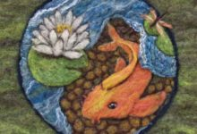 2011-13 -- Felted Wool Murals